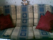 sofa with two chairs free to collector